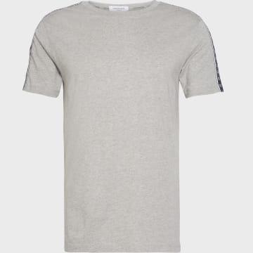 Calvin Klein - Tee Shirt Relaxed Avec Bandes 0475