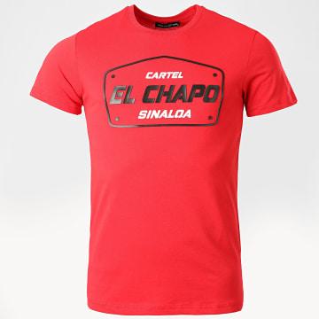 Classic Series - Tee Shirt El Chapo Rouge