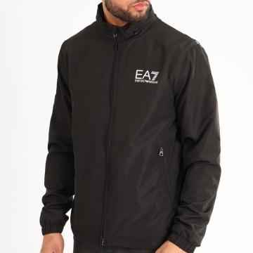 EA7 - Veste Zippée Capuche 3HPB03-PN28Z Noir