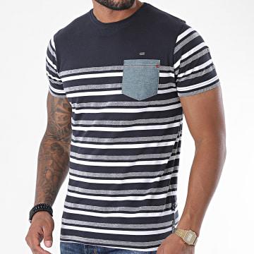 MZ72 - Tee Shirt Poche Titanic Bleu Marine