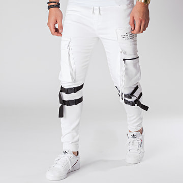 Black Needle - Jogger Pant 3015 Blanc