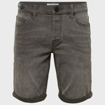 Only And Sons - Short Jean Slim Onsply 22015141 Gris