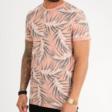 Only And Sons - Tee Shirt 22016762 Saumon Floral