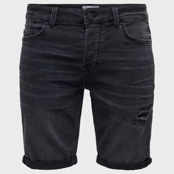 Only And Sons - Short Jean Regular Onsply 22017486 Noir