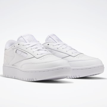 Reebok - Baskets Femme Club C Double FW8015 White Cold Grey 2