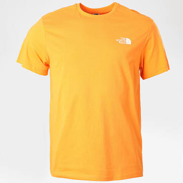 The North Face - Tee Shirt Simple Dome Orange