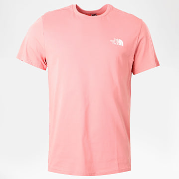 The North Face - Tee Shirt Simple Dome Rose
