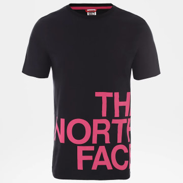 The North Face - Tee Shirt Graphic Flow Noir Rose