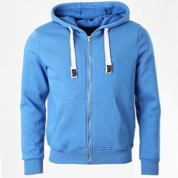 Armita - Sweat Capuche Zippé GW-881 Bleu