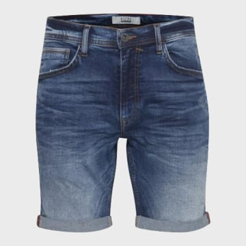 Blend - Short Jean 20709710 Bleu Denim