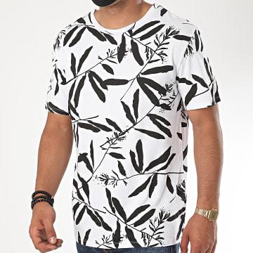 Aarhon - Tee Shirt 19-009B Blanc Noir