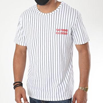 Aarhon - Tee Shirt Fake Friends Blanc