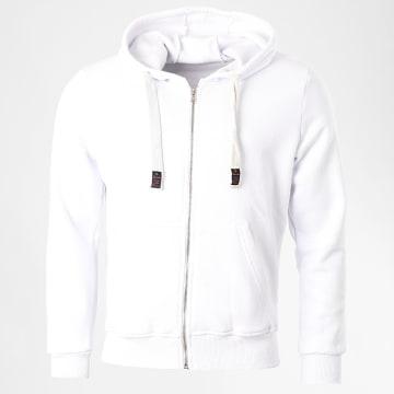 Armita - Sweat Capuche Zippé GW-881 Blanc