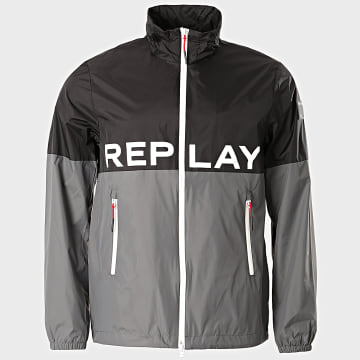 Replay - Veste Zippée M8050-83578 Noir Gris