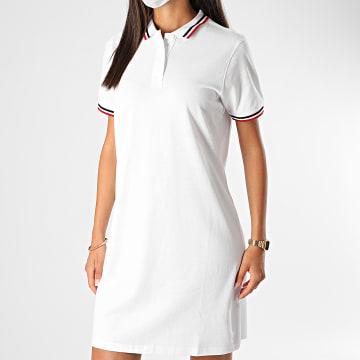 Urban Classics - Robe Polo Femme TB2613 Blanc
