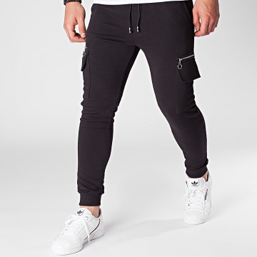 Aarhon - Pantalon Jogging 23872 Noir