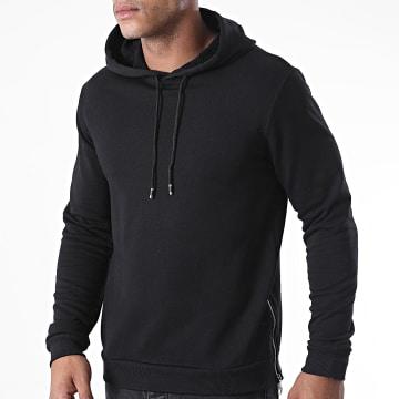 Aarhon - Sweat Capuche Oversize 13872 Noir