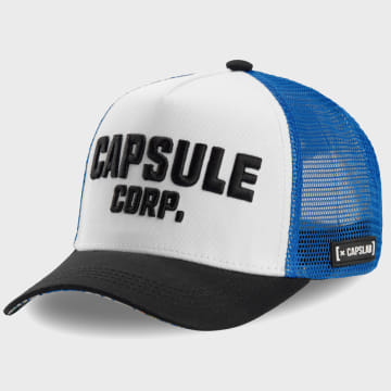 Capslab - Casquette Trucker Capsule Corp Bleu Roi Blanc