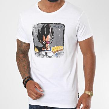 Capslab - Tee Shirt Vegeta Blanc