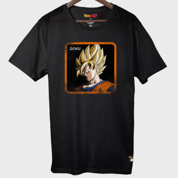 Capslab - Tee Shirt Goku Noir