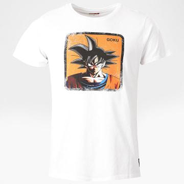 Capslab - Tee Shirt Goku Blanc