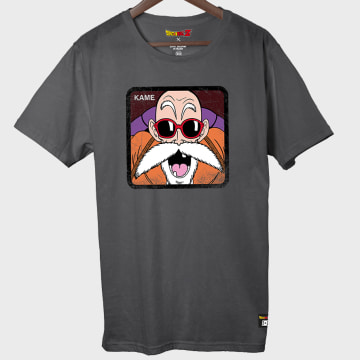 Capslab - Tee Shirt Kame Gris Anthracite