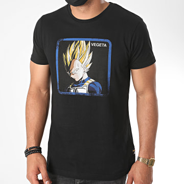 Capslab - Tee Shirt Vegeta Noir