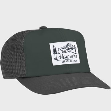 Coal Headwear - Casquette Trucker The Highland Gris Anthracite