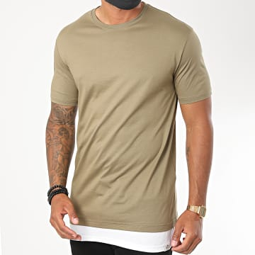 KZR - Tee Shirt Oversize B007 Vert Kaki