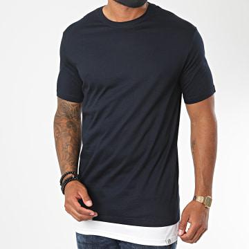 KZR - Tee Shirt Oversize B007 Bleu Marine