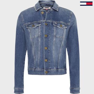 Tommy Jeans - Veste Jean Femme Slim Trucker 8153 Bleu Denim