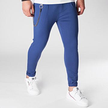 Uniplay - Pantalon Chino PU951 Bleu Marine