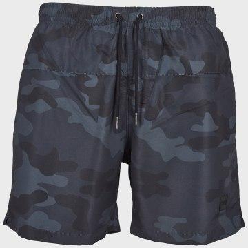 Urban Classics - Short De Bain TB2053 Camouflage Noir