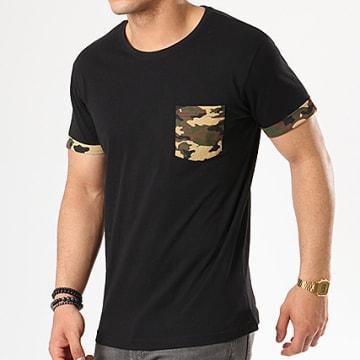 Urban Classics - Tee Shirt Poche TB1373 Noir Camo