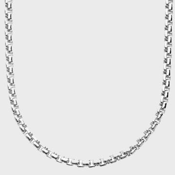 California Jewels - Collier Box Argenté