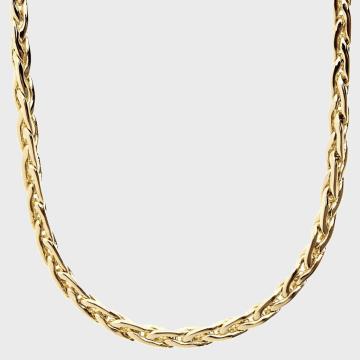 California Jewels - Collier Slim Basket Doré