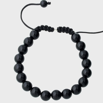 California Jewels - Bracelet Disco Ball Noir