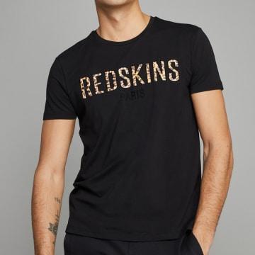 Redskins - Tee Shirt Leo Calder Noir