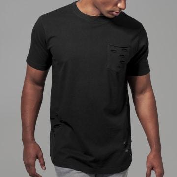 Urban Classics - Tee Shirt Oversize A Poche TB1570 Noir
