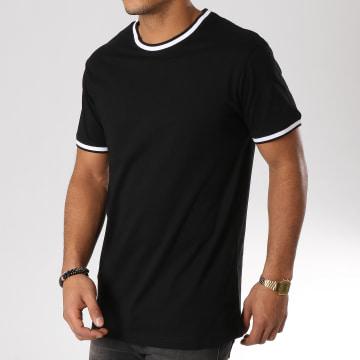 Urban Classics - Tee Shirt TB2186 Noir Blanc