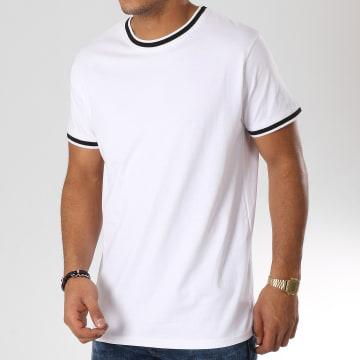 Urban Classics - Tee Shirt TB2186 Blanc Noir