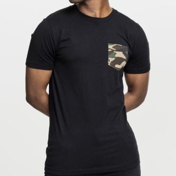 Urban Classics - Tee Shirt Poche TB492 Noir Camo