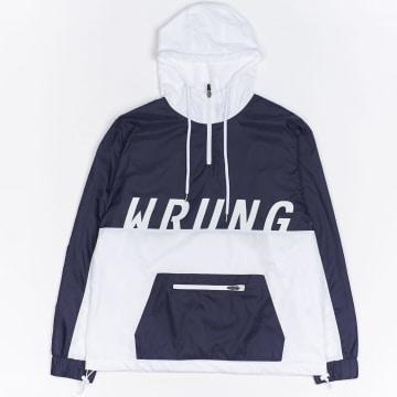 Wrung - Coupe-Vent Fresh Wind Bleu Marine Blanc