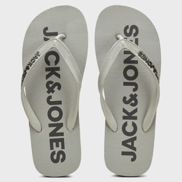 Jack And Jones - Tongs Logo 12169407 Gris