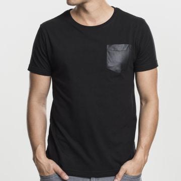 Urban Classics - Tee Shirt Poche TB970 Noir Noir
