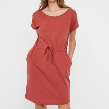 Vero Moda - Robe Femme April 10213298 Rouge