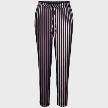 Vero Moda - Pantalon Femme Simply Easy 10227814 Bleu Marine