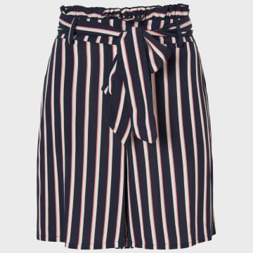 Vero Moda - Short Femme Simply Easy 10227849 Bleu Marine