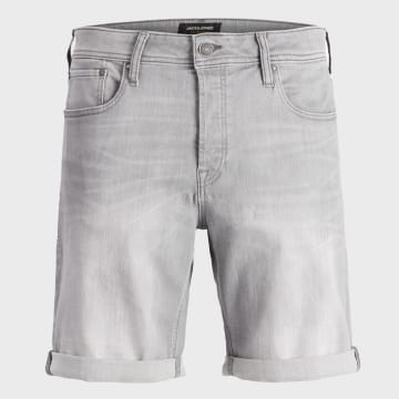 Jack And Jones - Short Jean Rick Original 12166861 Gris