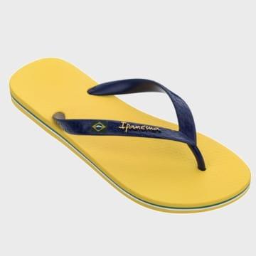 Ipanema - Tongs Classic Brasil II Jaune Bleu